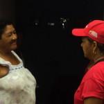 Gladys Requena hizo una visita casa por casa