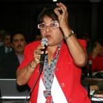 La parlamentaria señaló que está unión internacional de diversas instituciones políticas y  sociales subordinadas a las directrices del imperio norteamericano, tiene como propósito desestabilizar la Revolución Bolivariana. Mayra A. Sierra C. /Prensa AN